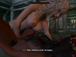 Interracial sex lesbians with strampon Skyrim