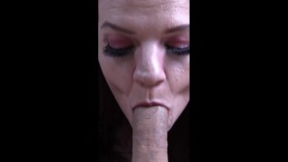 Hot Red Headed MILF Wife POV Blow Job