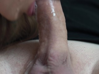 She Keep Sucking After I Cum In Her Mouth – Throbbing Blowjob 4K