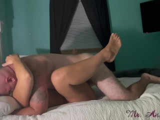 Housewife gets her face fucked and pussy destroyed!
