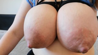 extremely swollen milk tits - Trailer