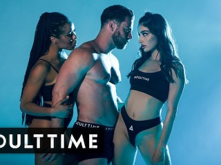 ADULT TIME - The Hottest Pornstar Threesome EVER with Emily Willis, Kira Noir, and Seth Gamble