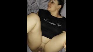 Bright light, camera, and quickie creampie wake up sex