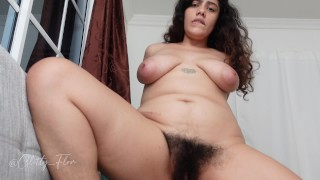 Hairy Pregnant