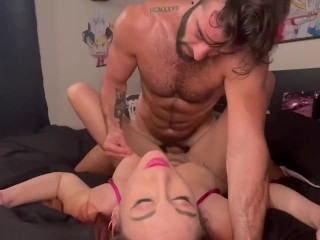 Artemisia Love smokes and then gets fucked hard by Roman Gucci(full video on OnlyFans)