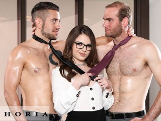 BiPhoria - Office Meeting Turns To Bisexual Threesome old bisex sex