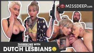 HAHA, I made these two lesbians bi-sexual: Nayomi Sharp and Mila Milan - MISSDEEP