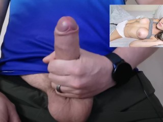Watching Porn and Cumming Hard JOI