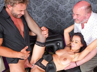 Husband eats my cum after fucking his wife russian bisex video