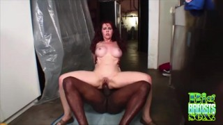 Blacked Mae Victoria Gets Jizzed On Big Tits