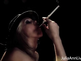 Amazing Penis Sucking Performance From Big Boobed Julia Ann!