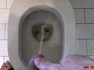 POV - Watch me piss from my cock point of view