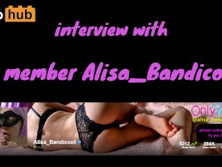 Interview 01: Sexy blonde PH amateur Alisa Bandicoot answers my questions