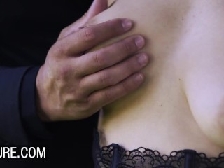 Hot curvy italiana Valentina Nappi submissive sex