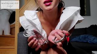 Jour 1 chastity cage - Clips4sale : studio/169893/maitresseivy