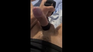 Preview: Big amateur italian cock, soft to hard, ball tied, male precum squirt. OF: @dodgyitalian