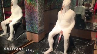 Full body Plaster Cast Bondage by Mistress