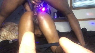 Hardcore ANAL. StacyRed tapOut. HEContinues to stuff muscular BBC in ASShole diggingOuT