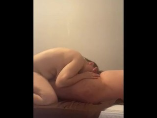 Famous YOUTUBER Gets his Dick Sucked by step mom in hotel room