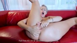 Camsoda - Angel Wicky MILF Hottie Masturbation and Anal