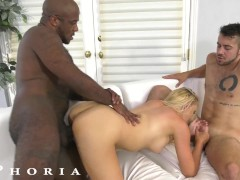 BiPhoria - Hot Bisexual Couple Seduce Their New Roommate
