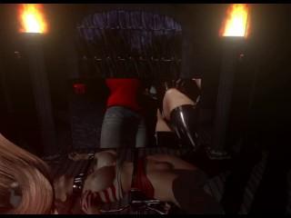 Citor3 Femdomination 2 3D VR game walkthrough 1: The Witness   story, femdom cuckold training