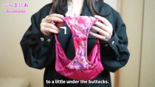 全裸で作業着を着てノーブラノーパン生着替え下着紹介❤️