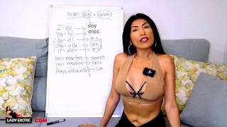 Hottest Latina Girl Teaches You Spanish