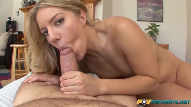 POVperverts - Small Tits Natural Babe Candice Dare Takes it in Every Hole