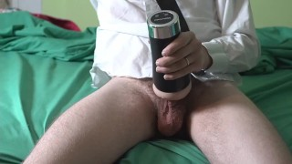 DEEP voice daddy Dom in suit FUCKS Pocket Pussy HARD+ CREAMPIE! Dirty Talk & Daddy's little Fuck toy