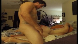 Squirting Step Mom Gets Fucked by Step Daughter's Boyfriend while away on Vacation!