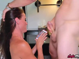 Kinky Cougar Sofie Marie Seduces Hung Stud For Hard Fucking