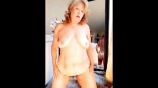 transparent night gown, masturbating & orgasm. Mature BBW Latina Woman