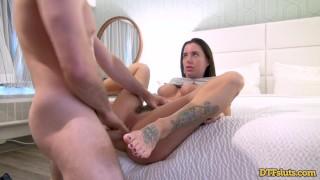 DTFsluts - James Deen Fucking Tattooed Slut Gia Dimarco Hard