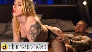 Dane Jones Hard rough sex for squirting Dutch alt blonde Chrystal Sinn