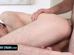 Curious Twink Dakota Lovell Gets His Tight Ass Filled With Cream By Horny Big Stepbrother