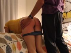 OTK Spanking and Belting with Bad Attitude
