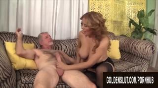 Golden Slut - Older Hotties Wrap Their Lips Around Cock Compilation