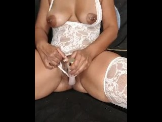 A Little Strip Tease And Pussy Play