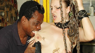 her first rough bbc fetish lesson