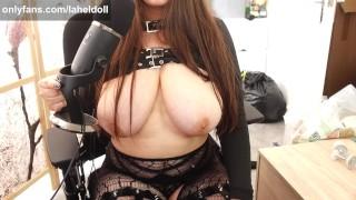 POV ASMR JOI British Girl Tit Fucks Your Dick