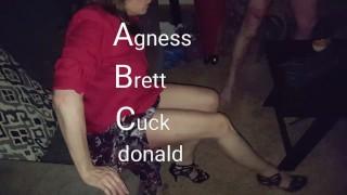 Bull fucks wife after cuck fluffing