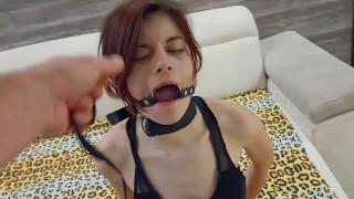 BDSM Rough Facefuck Deepthroat I Like It