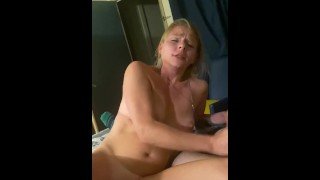 OhMy!!!! My wife's all on a strangers cock