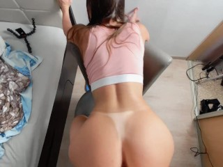 DickForLily I teach my neighbor how to relax properly – with help of my dick