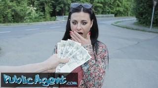 Public Agent Billie Star Takes Part in University Sexperiment