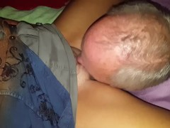Cuck has clean-up duties on WIFE and his Friend