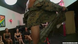 DANCING BEAR – Tiana Fine, Kimmy Lee, Tori Haze And More Enjoying Big Cocks Swinging All Over