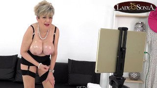 Live stream JOI fun with big tit mature Lady Sonia