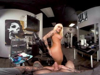 Tattoo Parlor Shemale in VR